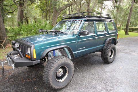 1998 Jeep Cherokee XJ na prodej