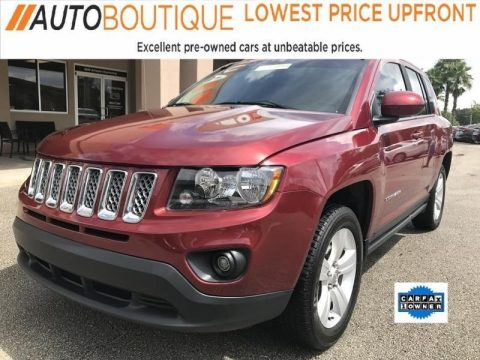 2016 Jeep Compass Latitude na prodej