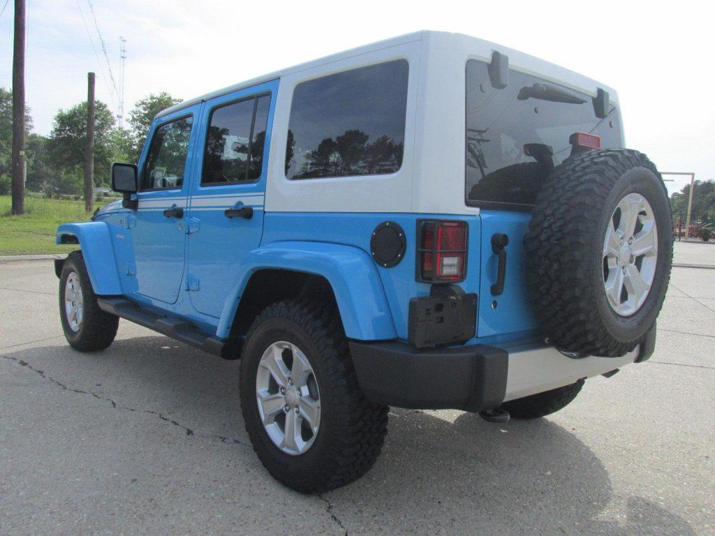 2017 Jeep Wrangler Unlimited Sahara Sport Utility 4-Door ...