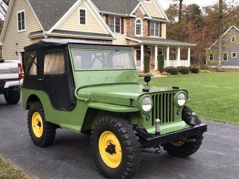 1946 Jeep Willys CJ2A Garage na prodej