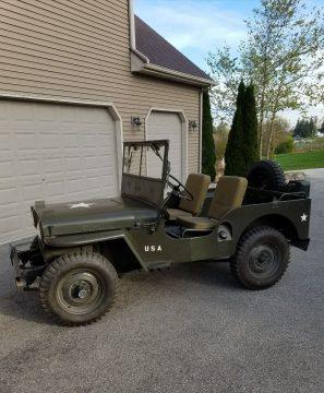 1946 Willys CJ2A na prodej