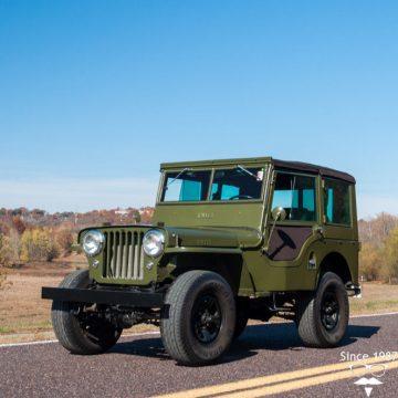 1948 Jeep Willys 439 CJ 2A na prodej