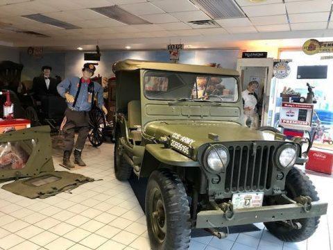 1951 Willys Jeep army military na prodej