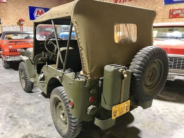 1951 Willys Jeep army military