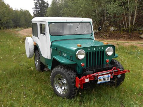 1954 Jeep CJ Willys CJ 3B, excellent condition na prodej