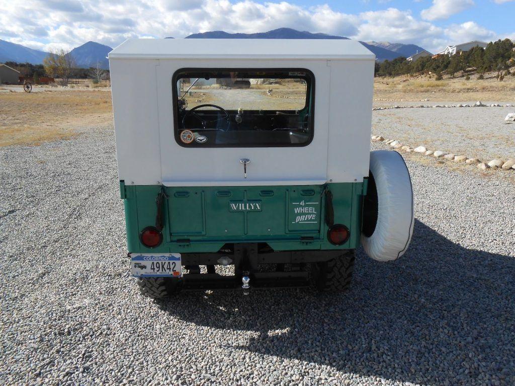 1954 Jeep CJ Willys CJ 3B, excellent condition