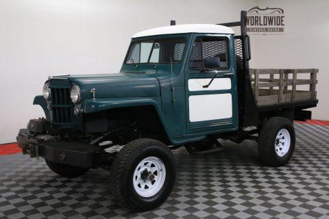 1954 Jeep Willys Restored V8 AUTO 4X4 PS PB na prodej