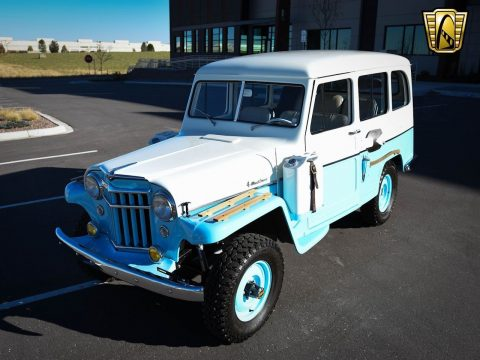 1956 Willys Jeep Desert Edition na prodej