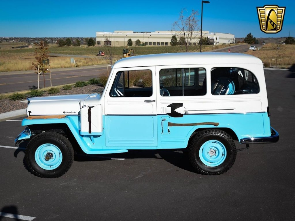 1956 Willys Jeep Desert Edition