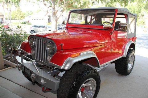 1973 Jeep CJ Base na prodej