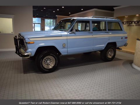 1979 Jeep Grand Cherokee na prodej