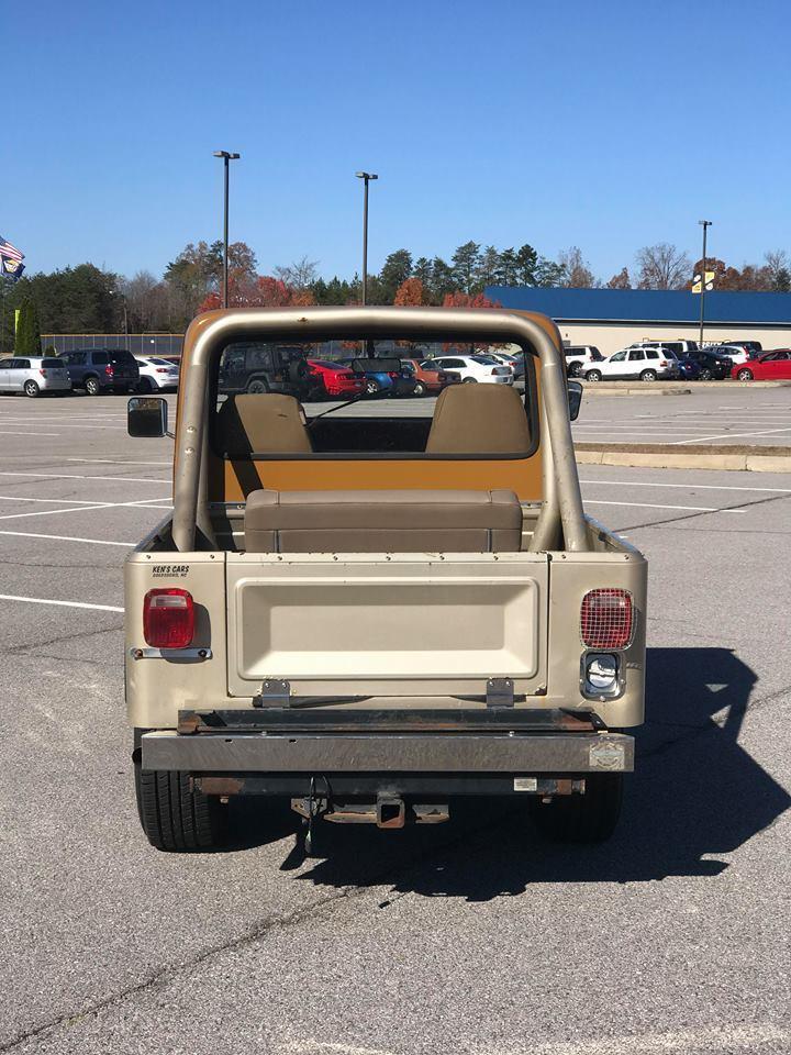 1981 Jeep Scrambler Base Sport Utility 2 Door