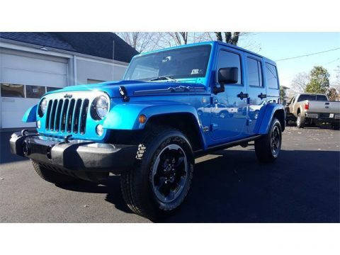 2014 Jeep Wrangler Sahara na prodej