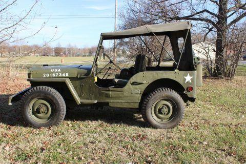 1942 Ford GPW Willys Military Jeep na prodej