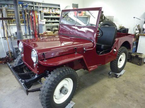 1948 Willys CJ2A Completely Restored na prodej