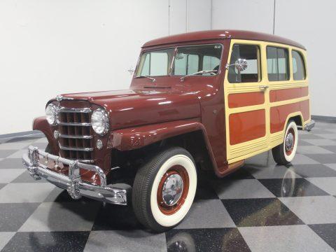 1950 Willys Station Wagon na prodej