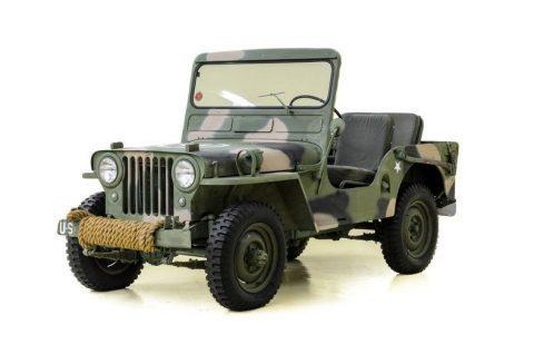 1951 Willys Jeep M 38 Military na prodej