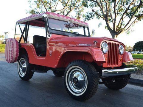 1966 Jeep CJ 5A 4X4 na prodej