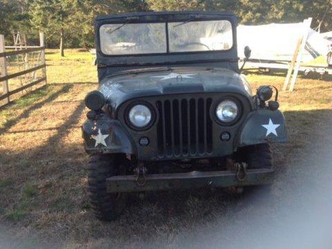 1967 Jeep Military M38a1 & Trailer na prodej