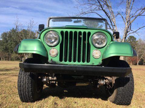 1974 Jeep CJ 1974 Original Documented na prodej