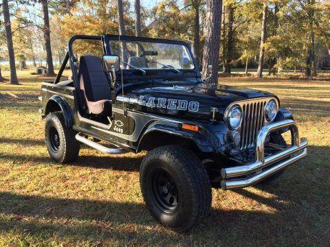 1984 Jeep CJ Laredo na prodej