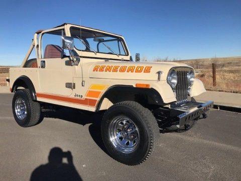 1984 Jeep CJ renegade na prodej