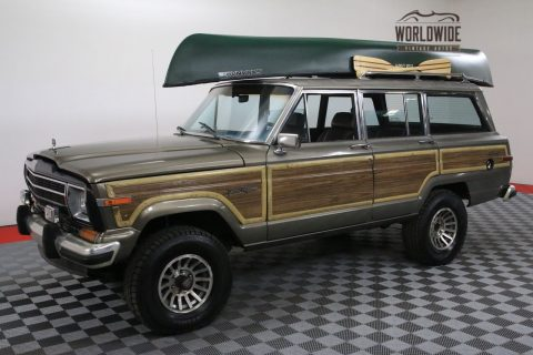 1987 Jeep Wagoneer NEW V8 AUTO AC 2 Owner!!!!! na prodej