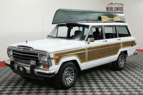 1991 Jeep Wagoneer Rare. 70K ORIG Miles. 4X4. TIME CAPSULE na prodej