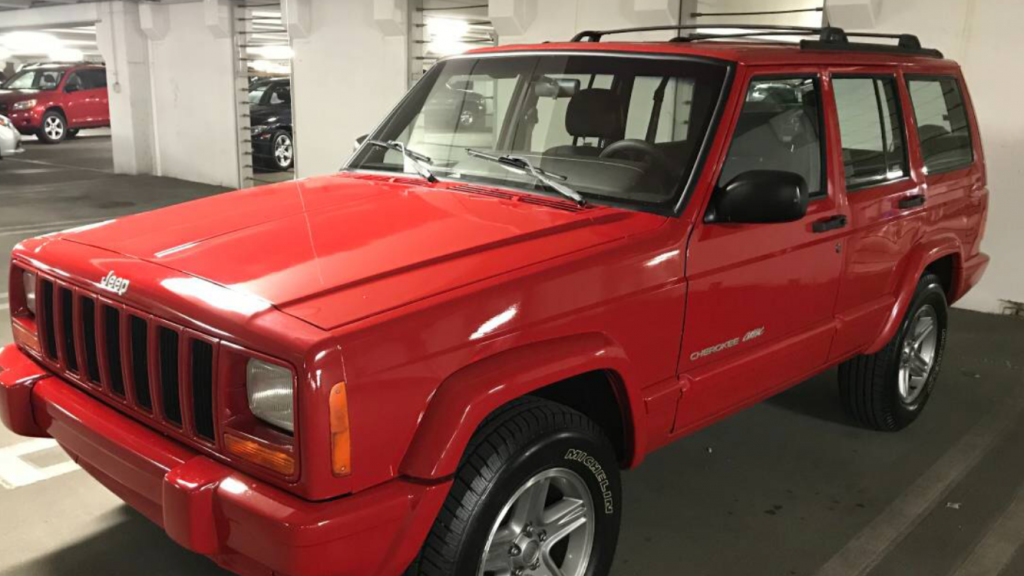 "2000 Jeep Cherokee Classic ""Flame Red"""