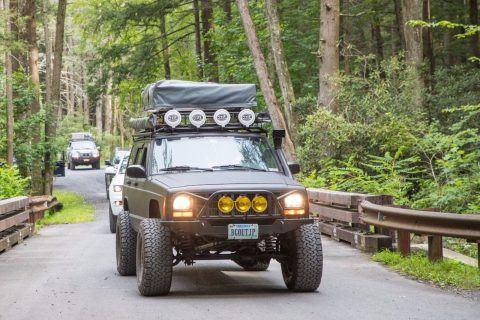 2000 Jeep Cherokee Long Arm Suspension na prodej