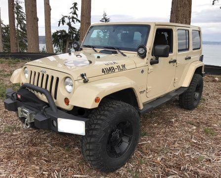 2011 Jeep Wrangler Sahara 70th Anniversary Edition na prodej