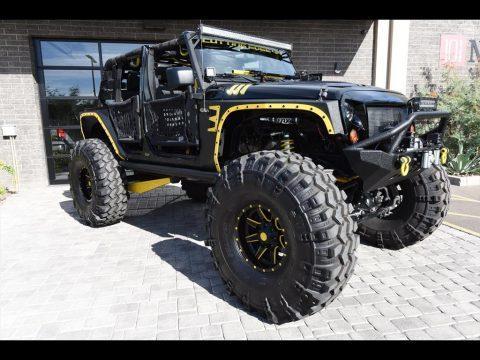 2012 Jeep Wrangler Unlimited Custom Build na prodej