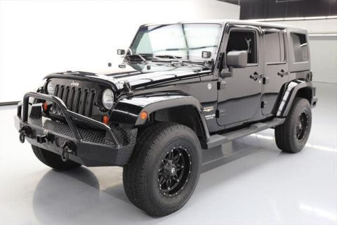 2012 Jeep Wrangler Unlimited Sahara Sport Utility 4 Door na prodej