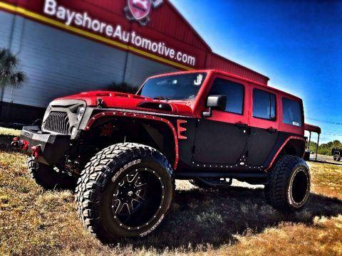 2017 Jeep Wrangler Rubicon Rhino TWO TONE Leather HARDTOP na prodej