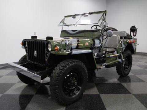 Jeep RAF 1945 Willys MB Military na prodej