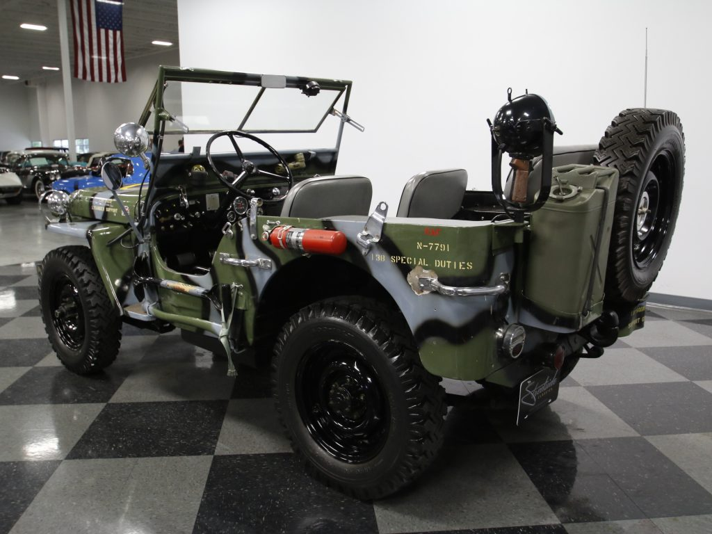 jeep raf 1945 willys mb military na prodej. Black Bedroom Furniture Sets. Home Design Ideas