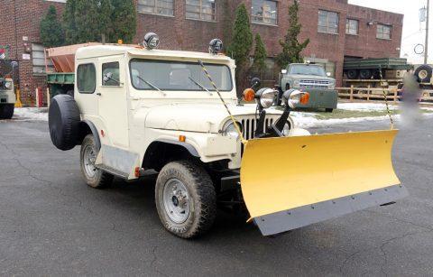 1960 Jeep CJ Plow Runs & Operates with Clear na prodej