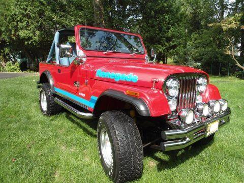 1977 Jeep CJ Levis Edition na prodej