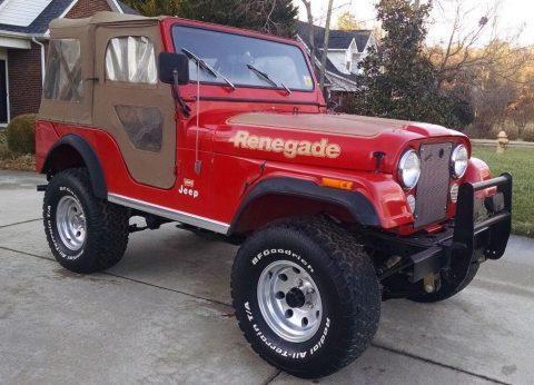 1977 Jeep Renegade RENEGADE na prodej