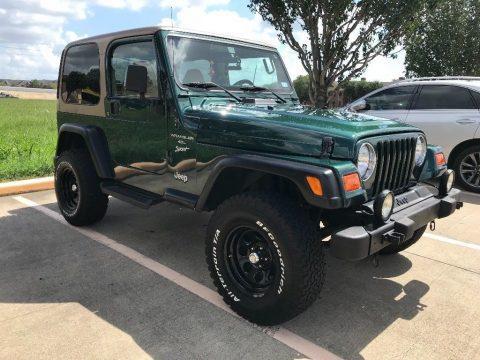 2000 Jeep Wrangler Sport TJ 4.0 na prodej
