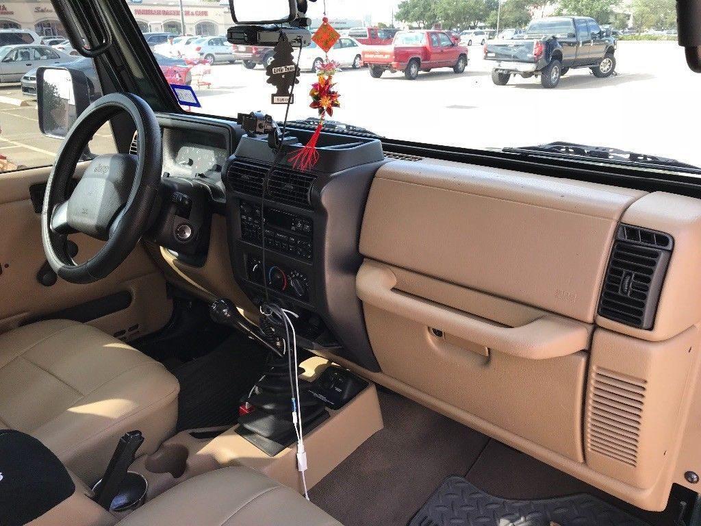 2000 Jeep Wrangler Sport TJ 4.0