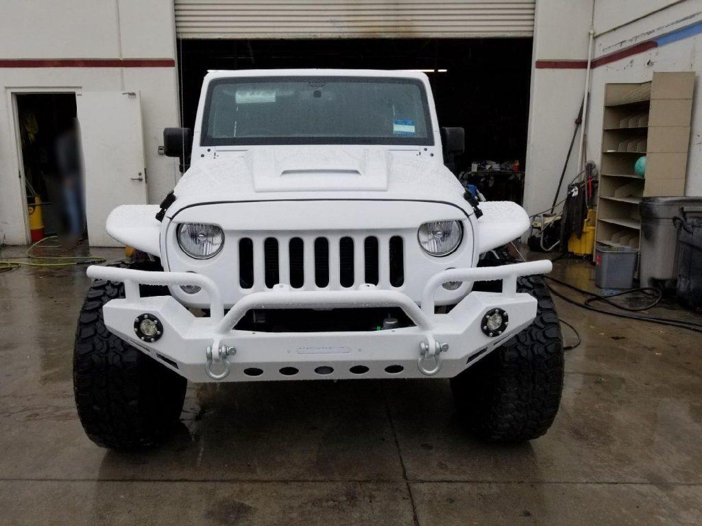 2016 Jeep Wrangler Sport  6 wheel drive Jeeps!
