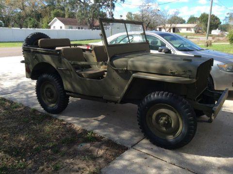 1941 Jeep Willys na prodej
