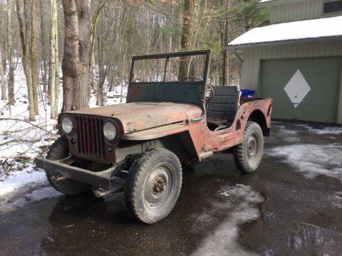 1946 Jeep Willys CJ2A na prodej