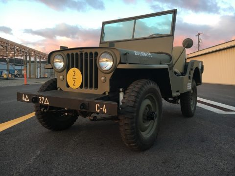 1948 CJ2A Jeep Willys na prodej