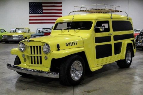 1950 Willys Panel Delivery na prodej