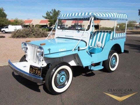1960 Willys Jeep Surrey Gala na prodej