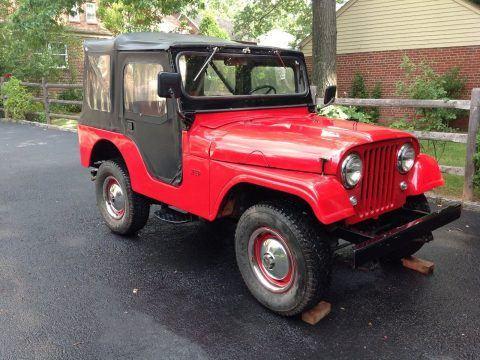 1964 Jeep CJ na prodej