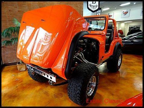1979 Jeep CJ Chevy V8 na prodej