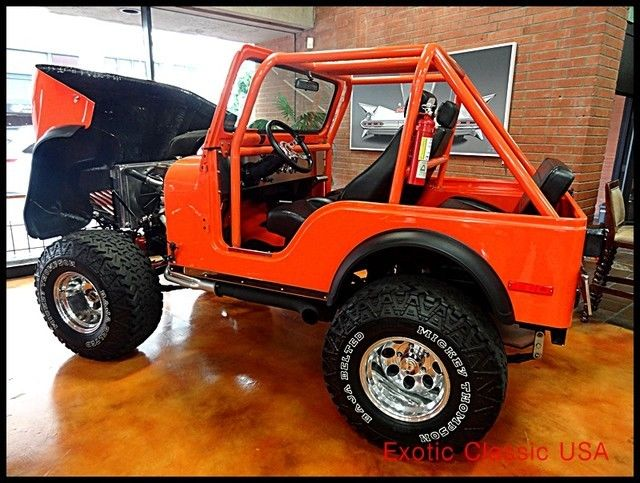 1979 Jeep CJ Chevy V8